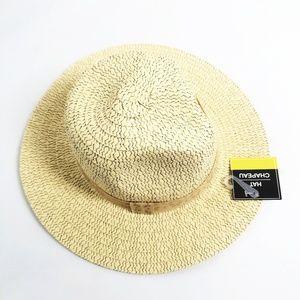 HAT CHAPEAU Lightweight Straw Sun Hat!
